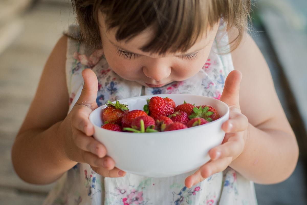 fresas y alergias