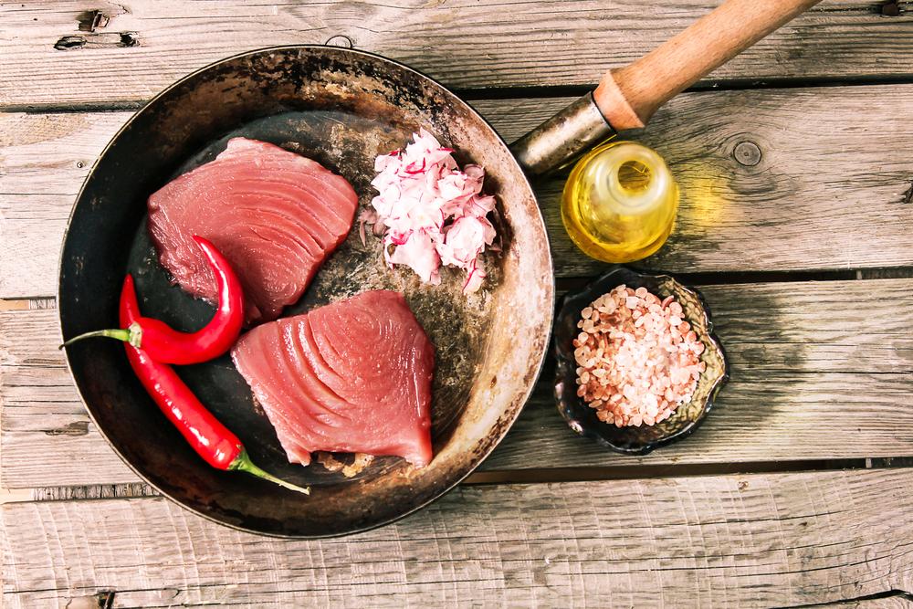 alimentos ricos en omega 3: atún