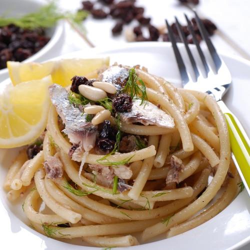 Pasta con sardinas: receta