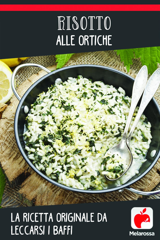 risotto con ortigas: pinterest