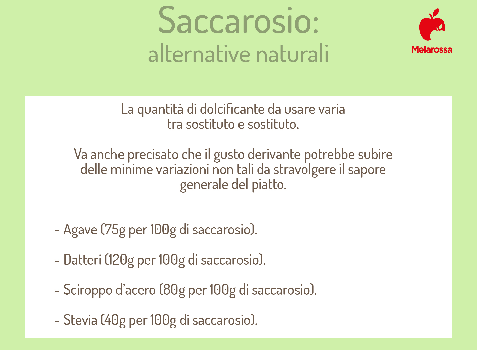 usos alternativos de la sacarosa
