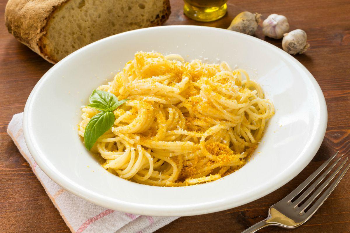 Espaguetis Alla Bottarga